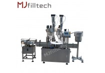 Automatic Auger Powder filling and capping machine