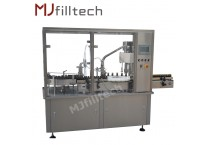 Automatic 2 nozzles economical liquid filling production line