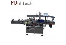 Automatic adhesive double side labeling machine