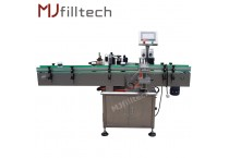 Automatic Air cylinder fixed position Labeling Machine
