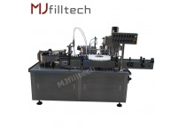 Automatic essential oil filling and capping machine