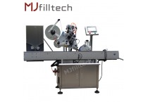 Automatic horizontal type adhesive labeling machine