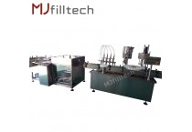 Automatic infusion bottle filling production line
