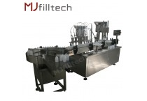 Automatic Linear Filling Stoppering And Capping Machine