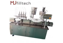 Automatic liquid filling production line