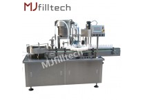 Automatic Spray Filling Stoppering And Capping Machine