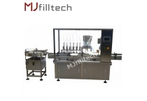 Automatic syrup filling production line
