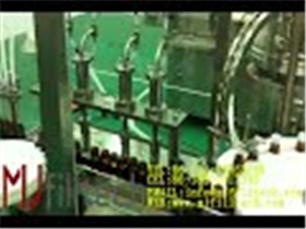 MJ GFT Four nozzles filling and capping machine